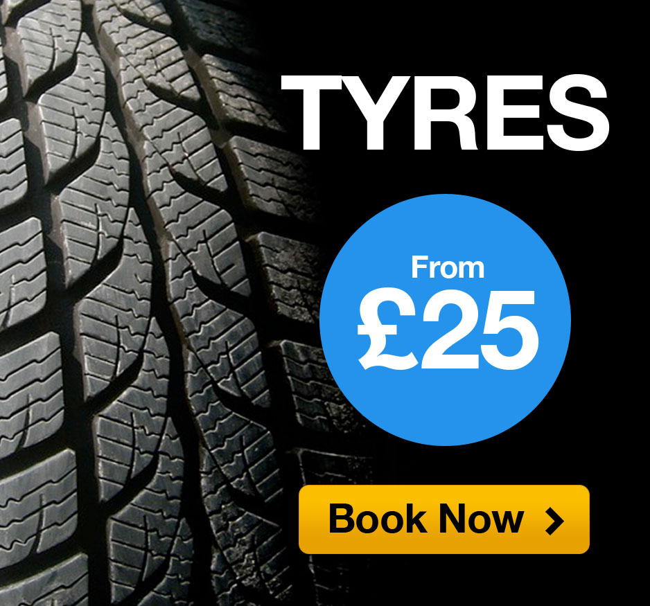 Tyres From £25