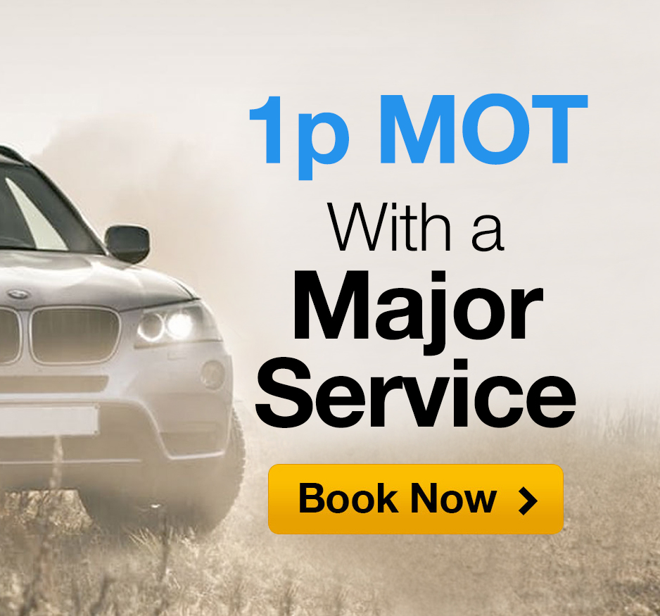 1p MOT with Major Service